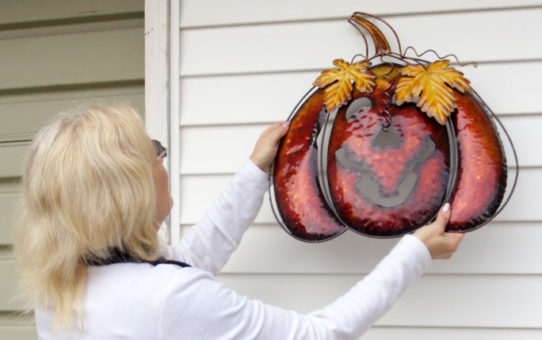 hanging halloween decoration