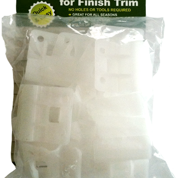 VZ Hang finish trim hooks 20 pack