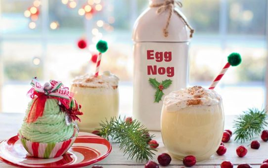 traditional christmas egg nog