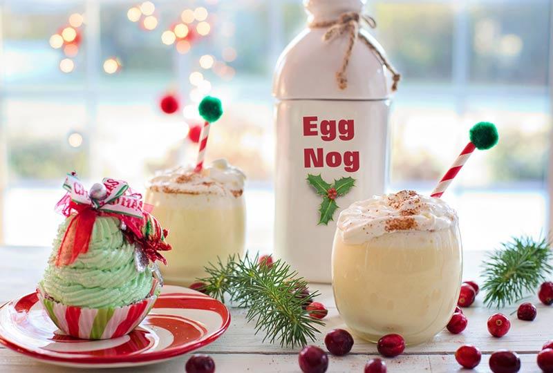 traditional christmas egg nog