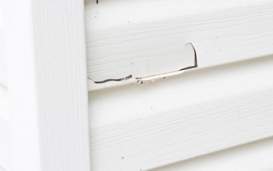 avoid vinyl siding damage cracks and holes