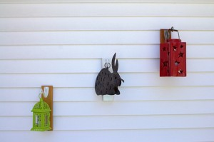 Lanter, Bunny on Plaques